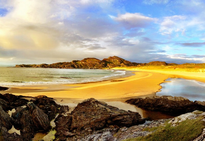 Isla de la playa Colonsay