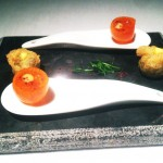 Martin-Berasategui-Restaurant-a-kumquat-filled-with-potato-firewater-olive-and-anchovy-150x150