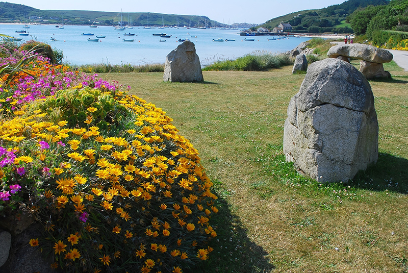 Tresco Island, Cornwall res