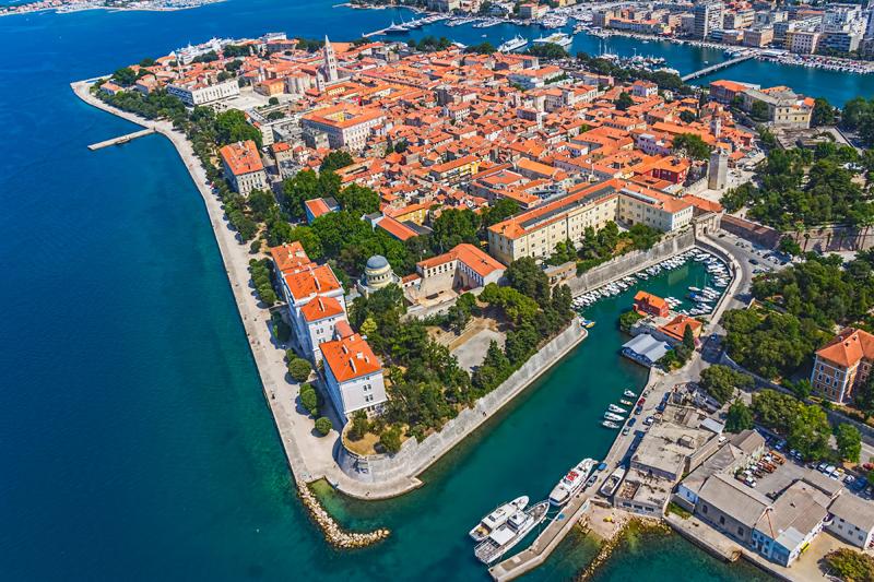 Zadar-aerial