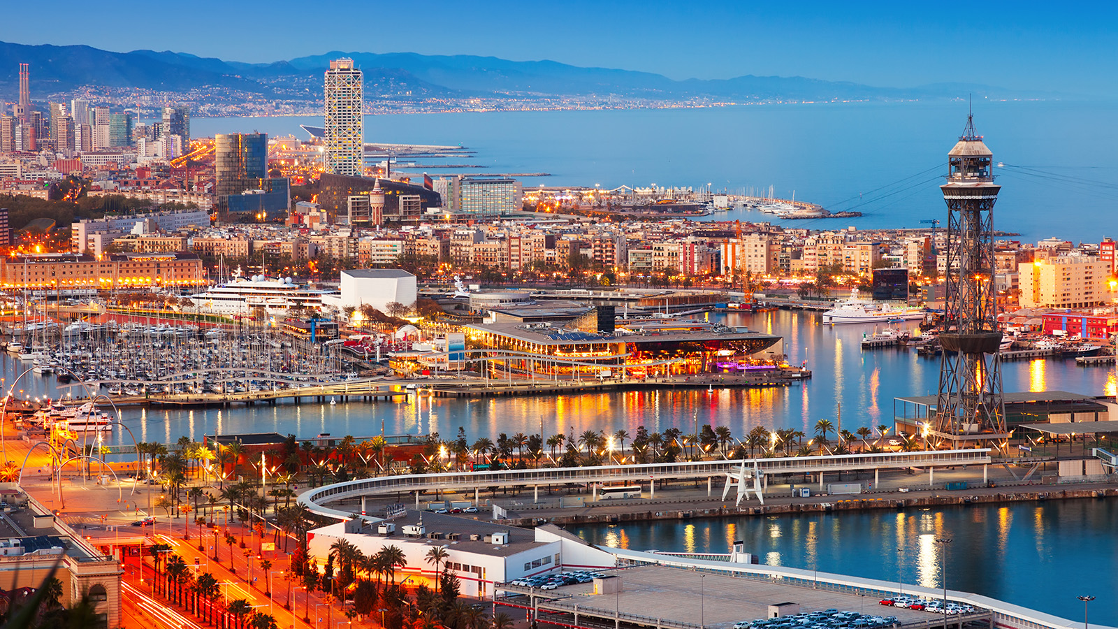 Marina Port Vell, Barcelona, Spain