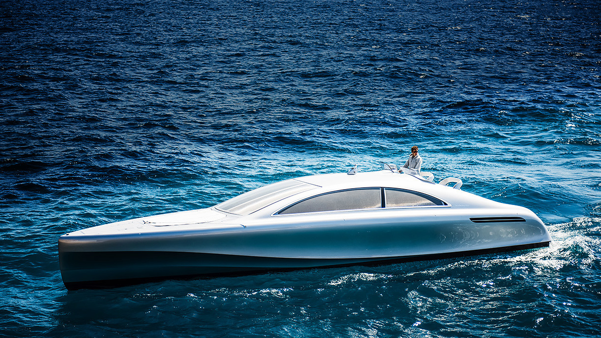 Mercedes launched its first motor yacht