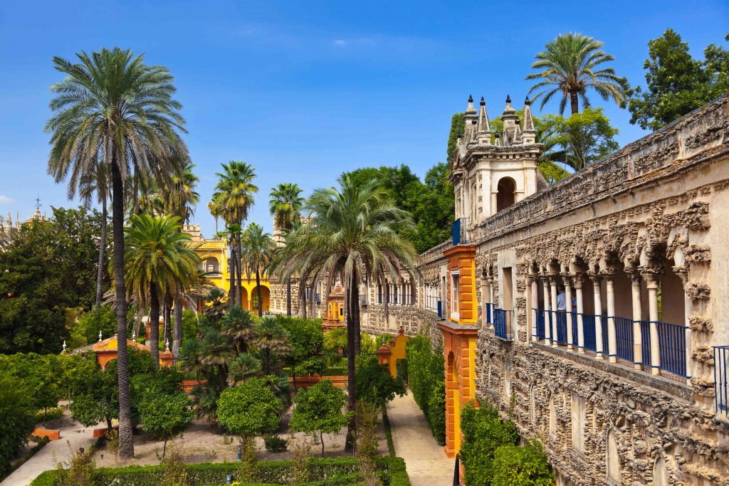 Royal Palace Of Dorne: Real Alcázar Palace -Seville, Spain | MarinaReservation.com