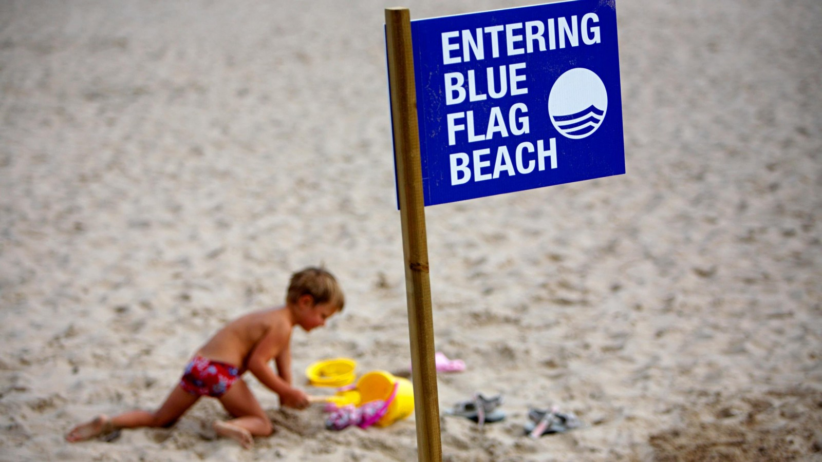 The most popular beaches with the Blue Flag