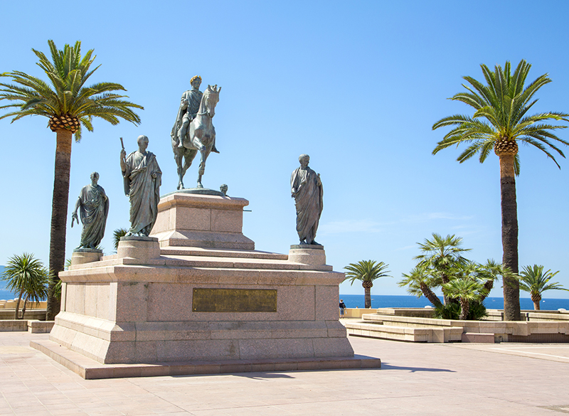 the life and times of napoleon bonaparte the little corsican Napoleon bonaparte is credited with being the island of saint helena's most famous inhabitant born on august 15, 1769, in the corsican city of ajaccio, napoleon was the fourth of eleven children of carlo buonaparte and letizia romolino.