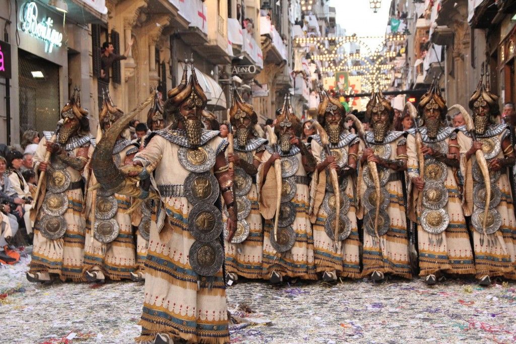 Festival of Moors and Christians in Spain