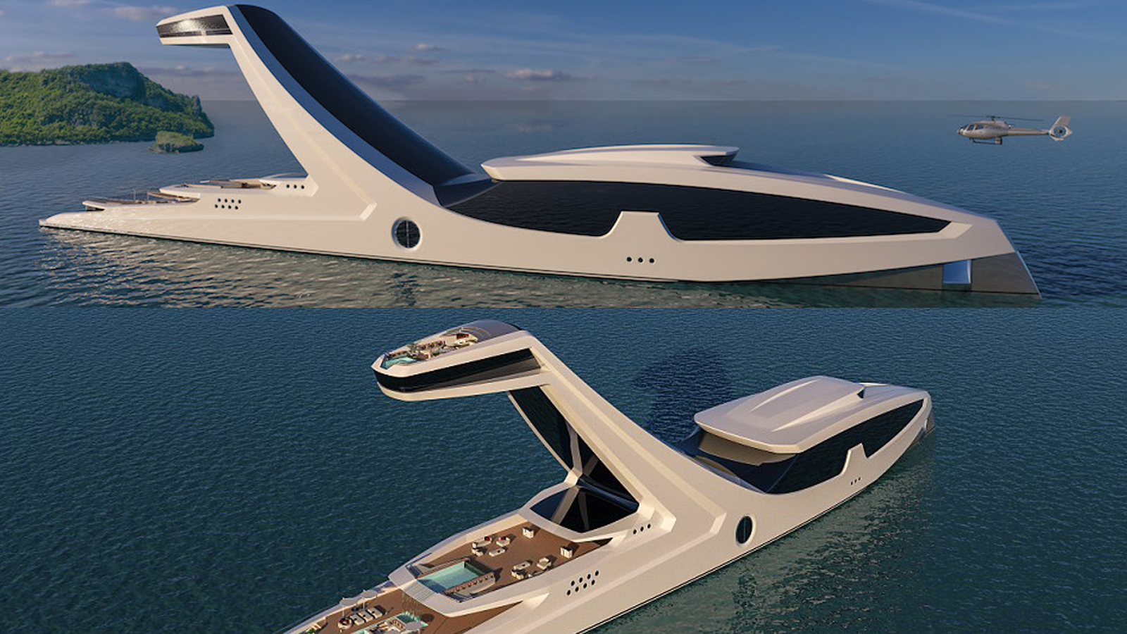 shaddai the most adventurous mega yacht ever designed