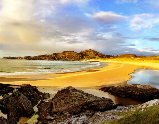 Isle of Colonsay beach