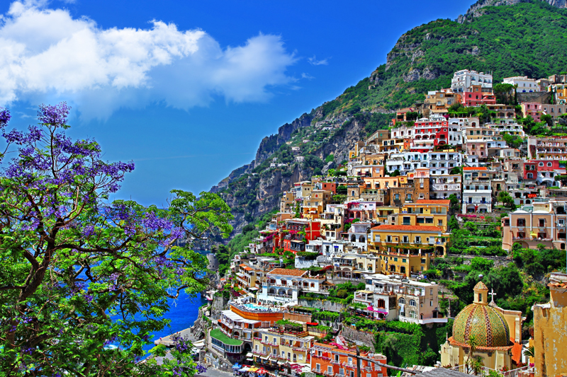Positano Italy - Berth Booking with MarinaReservation.com