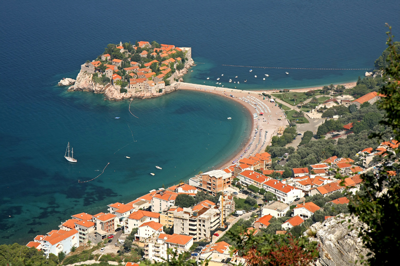 Sveti Stefan resort, Montenegro