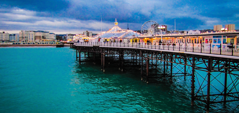 Brighton Pier, England -United-Kingdom