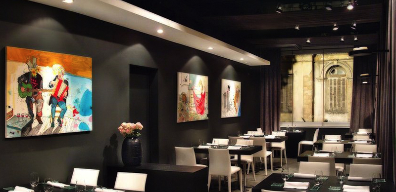 Funky Gourmet, a stylish contemporary restaurant for innovative dishes