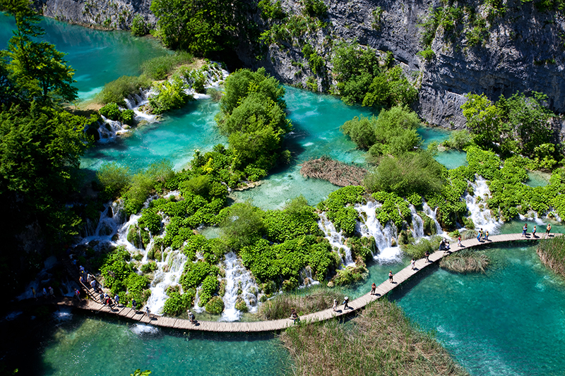 Plitvice Lakes National Park res