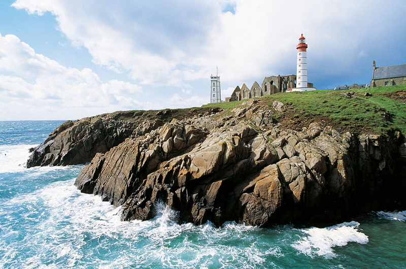 Saint-Mathieu Lighthouse, Plougonvelin, France
