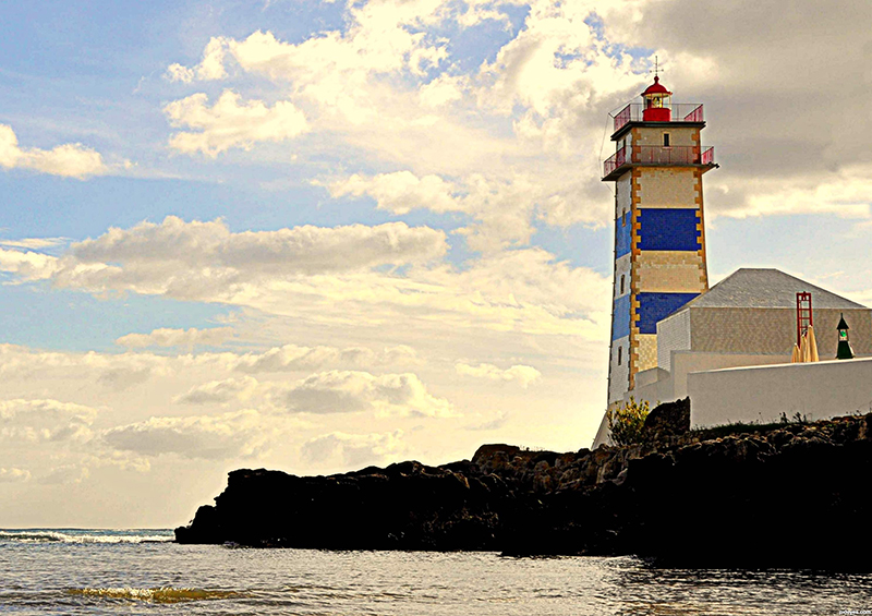 Santa Marta Lighthouse, Cascais, Portugal