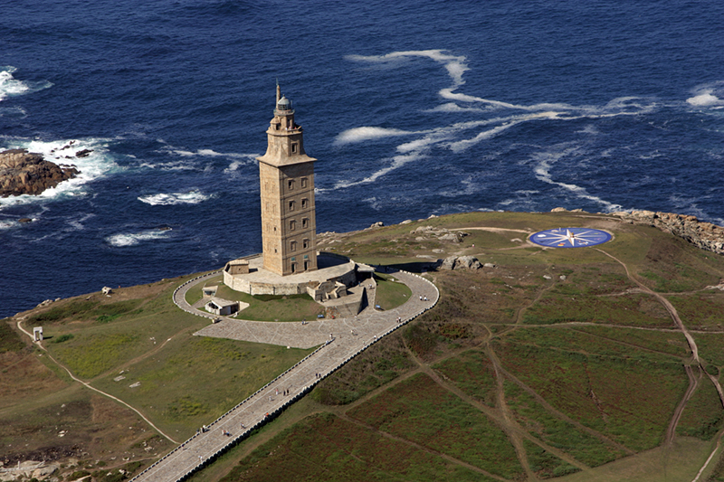 The Tower of Hercules, A Coruña, Spain