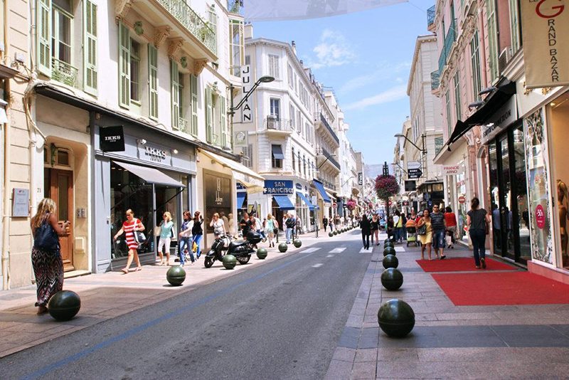 rue d'antibes cannes res