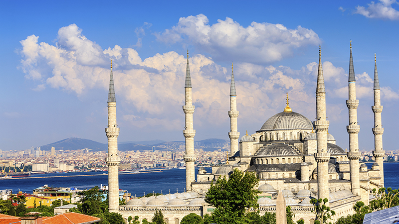 Blue Mosque, Istanbul res