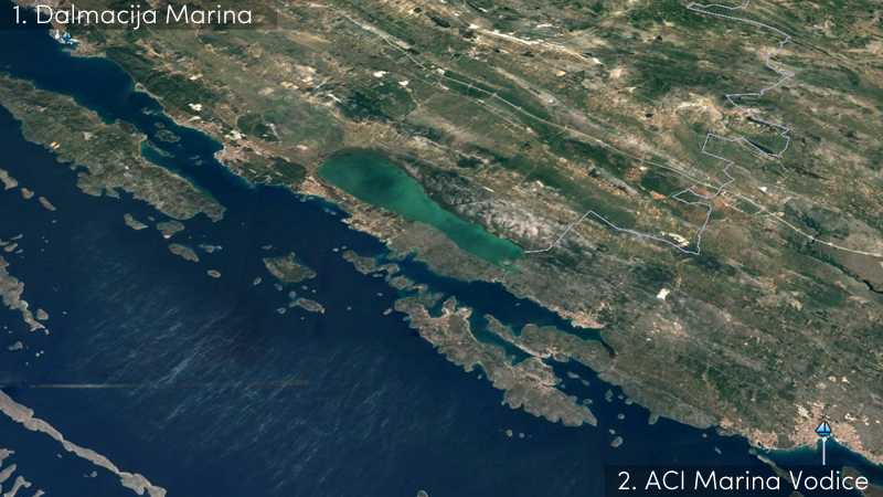 make a marina reservation in dalmacija