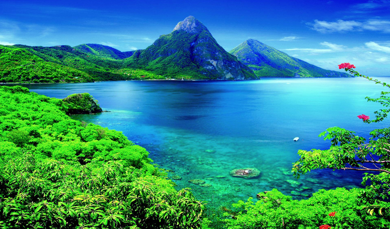 holiday in Saint Lucia