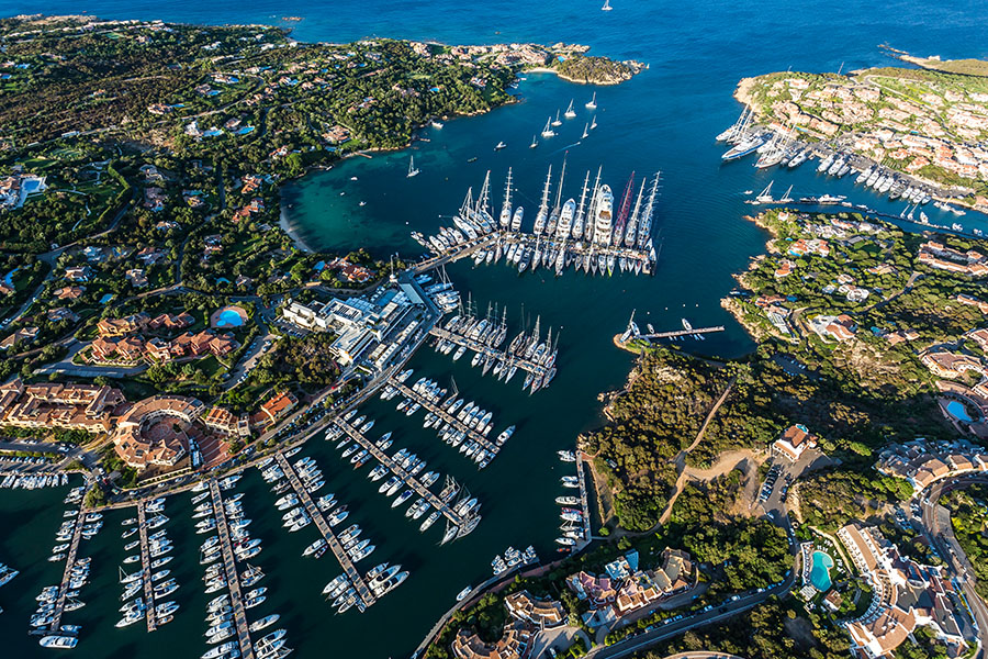 Porto Cervo berth reservation