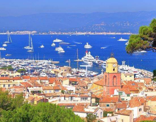Saint Tropez best ports and marinas