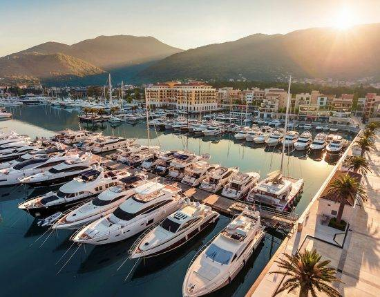 montenegro best ports and marinas