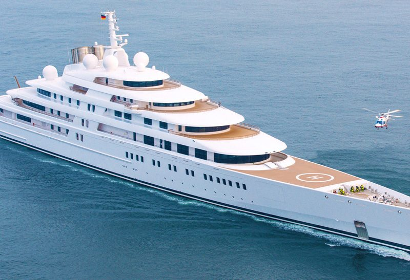 Azzam the biggest and largest yacht in the world