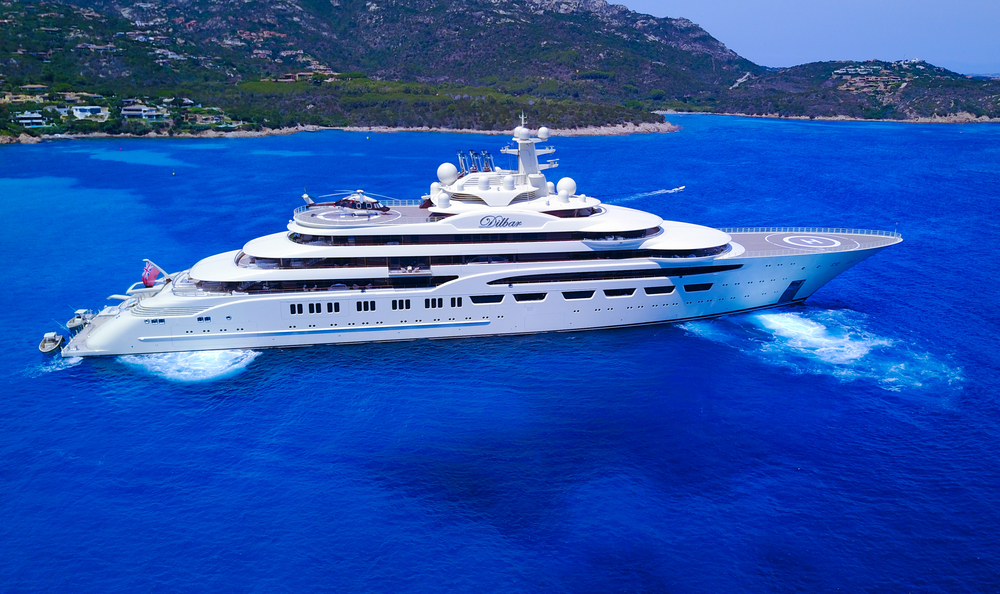 biggest and largest yachts in the World