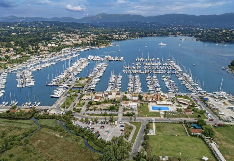 Marinas for wintering in Greece