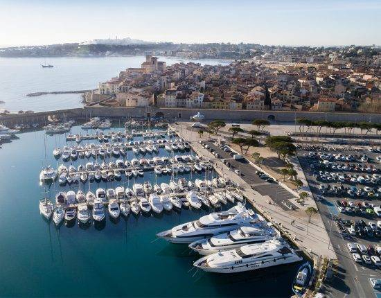 best marinas in France