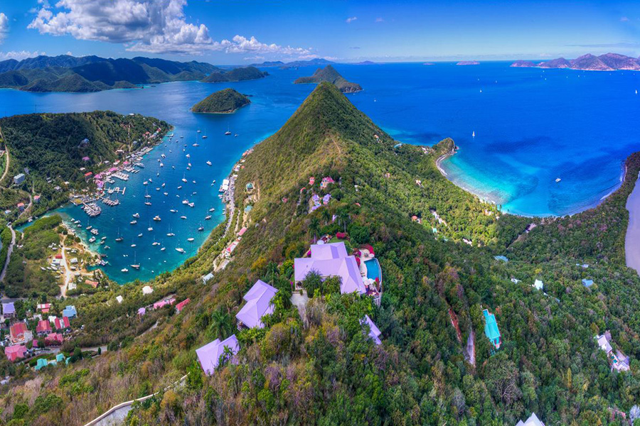 British Virgin Islands sailing destination