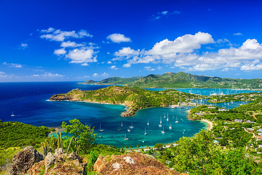 antigua sailing destination