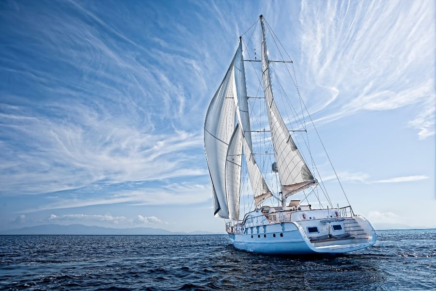 types of sailboat